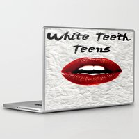 lorde Laptop & iPad Skins featuring White Teeth Teens // Lorde  by Fan Merch