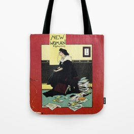 The New Woman, vintage Comedy Theatre london advert Tote Bag