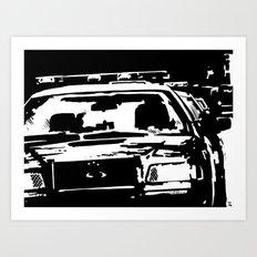 Cars #3 Art Print