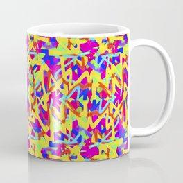 Multicolored Linear Pattern Design Coffee Mug