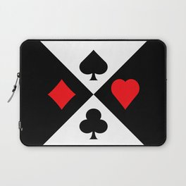 Four Suits Laptop Sleeve