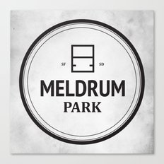 Meldrum Park Canvas Print