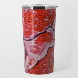 Red Nude Travel Mug
