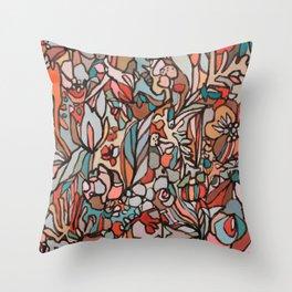 redsalmonturq Throw Pillow
