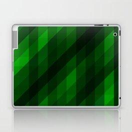 Weaving Green Diamonds Pattern Laptop & iPad Skin