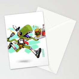 Bob x Reptar Stationery Cards