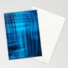 Blue wrinkles Stationery Cards