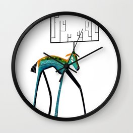 My dear deer Wall Clock