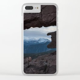 Pikes Peak Clear iPhone Case