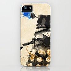 Doctor Who Dalek Rustic iPhone (5, 5s) Slim Case
