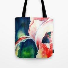 Tropical Iris Flower Tote Bag