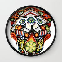 jaguar Wall Clocks featuring Jaguar by Jaramillo Velez