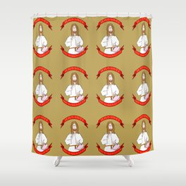 Jesus saves! (and so should you) Shower Curtain