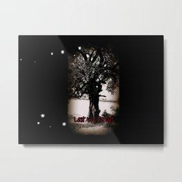 Remembrance Tree Metal Print