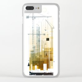 Manchester Clear iPhone Case