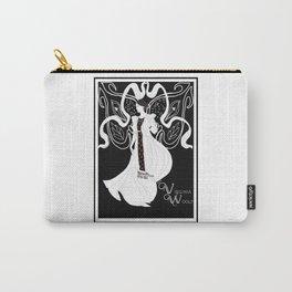 Virginia Woolf Art Nouveau Carry-All Pouch