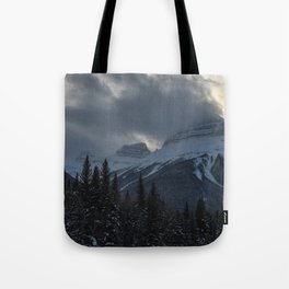 Rocky Mountains Two Tote Bag