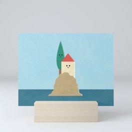 Happy Place - Island Mini Art Print