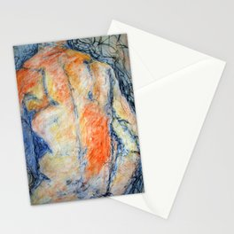 Colored Man Stationery Cards