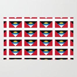 flag of Antigua and barbuda -antiguan,barbudan,caribean,antilles,Saint John,madeiran Rug