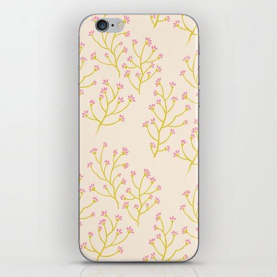 wildflowers yellow iPhone & iPod Skin
