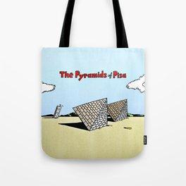 The Pyramids of Pisa Tote Bag