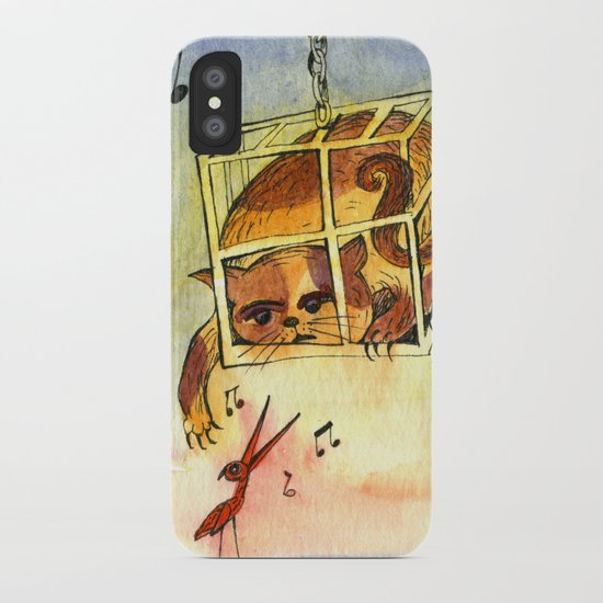 Annoying situation iPhone Case