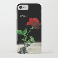 2pac iPhone & iPod Cases featuring The Rose that Grew from the Concrete by PeterPerlegas Fine Art
