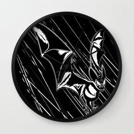 Bat Attack! Wall Clock