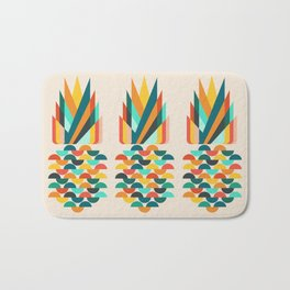 Groovy Pineapple Bath Mat