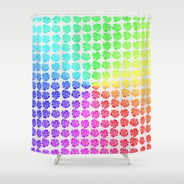 Roses pattern VIII Shower Curtain