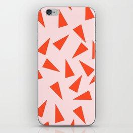 PINK + ORANGE iPhone Skin