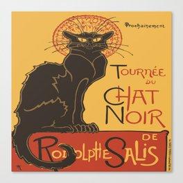 Tournee du Chat Noir De Rodolphe Salis Vector Canvas Print