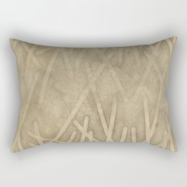 sand geode  - Rectangular Pillow
