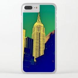 Artistic Empire Clear iPhone Case