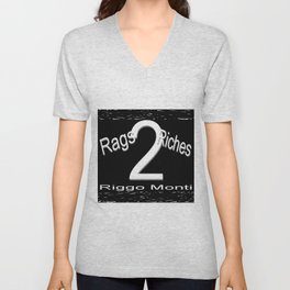 Riggo Monti Design #19 - Rags 2 Riches Unisex V-Neck