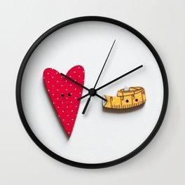 Love Crafts Wall Clock