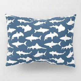 Sharks on Regal Blue Pillow Sham