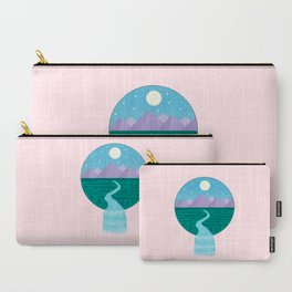 Sleepy River Carry-All Pouch
