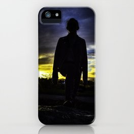 Sillhouette iPhone Case