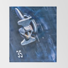 Battleship Texas Throw Blanket