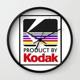 Product By Kodak Wall Clock