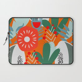 Cacti, fruits and flowers Laptop Sleeve