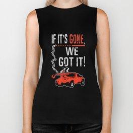 if it is gone we got car Biker Tank