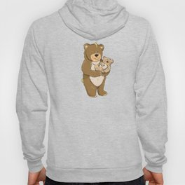 cute bears, father and son Hoody