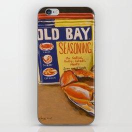 Meg's Old Bay iPhone Skin