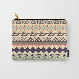 Aztec pattern 02 Carry-All Pouch