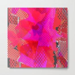 pop abstract. 15 Metal Print