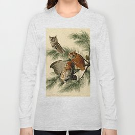 Little Screech Owl Long Sleeve T-shirt