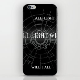 ALL LIGHT WILL FALL Lineage Design  iPhone Skin